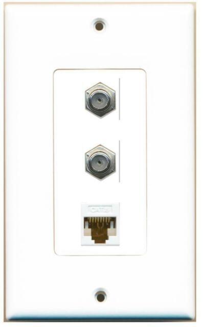 1 Toslink Digital Audio Port and 2 HDMI Port Wall Plate Decorative RiteAV