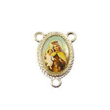 Virgin of Carmel Catholic center metal rosary beads finding junction 2.5cm