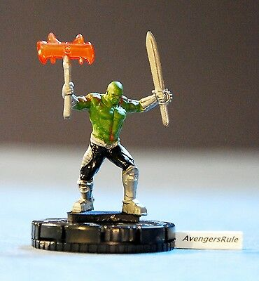 Marvel Heroclix Guardians of the Galaxy 002 Drax the Destroyer Common