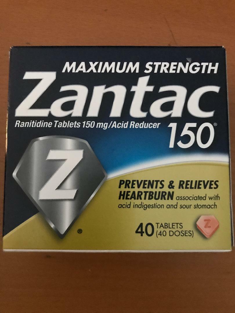 Heartburn Maximum Str. original 150mg Acid Reducer, 40 tablets EXPIRES 01/2022 2