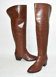 bd2c5e5c4f6 New! Frye  Clara  Over the Knee Boot Redwood Brown Leather 3475371 ...