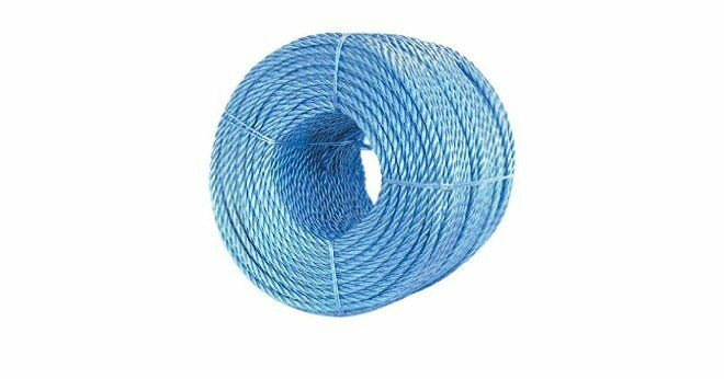 'EVERLASTO' blueE POLYPROPYLENE POLYROPE POLY ROPE 10MM FREE EXPRESS DELIVERY