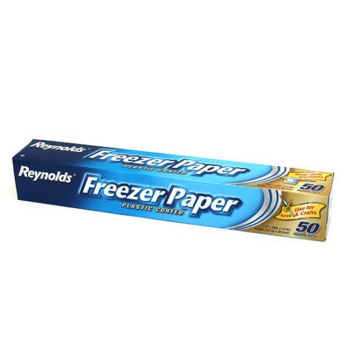 2 boxes Reynolds Freezer Paper 50 Sq Feet Small 12.1M roll FREEPOST AUST