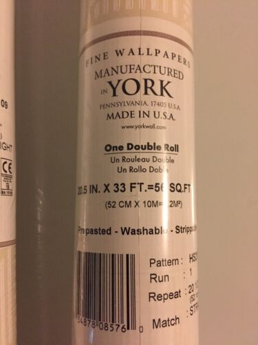 York Pattern Number HS2109  3 Double Rolls