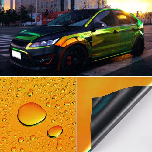 Glossy Colorful DIY Car Body Films Vinyl Car Wrap Sticker Decal Air Release Film