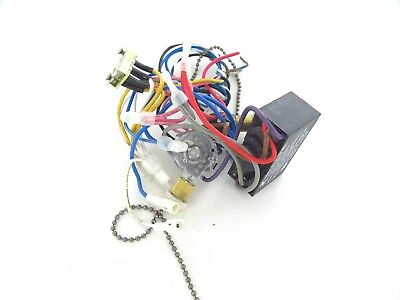2 Used Hampton Bay Ceiling Fan Wiring Harness With Switches Capacitor Parts Ebay
