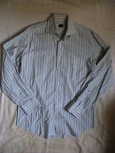 JOOP-Hai-Herren-Business-Hemd-Gr-39-size-15-1-2-men-business-shirt-striped
