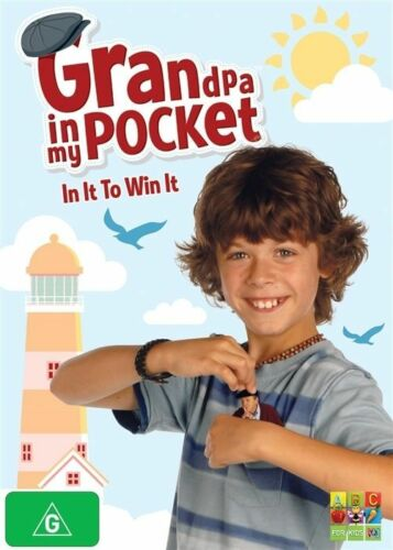 1 of 1 - Grandpa In My Pocket - In It To Win It! (DVD, 2011) Region 4 ABC Kids DVD - VGC