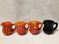 Boyd Glass Mini Pitcher Creamer Toothpick Holder-choice Of Colors-sale Price.