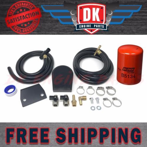 DK Diesel Coolant Filtration Filter Kit 2008-2010 Ford Powerstroke 6.4 6.4L