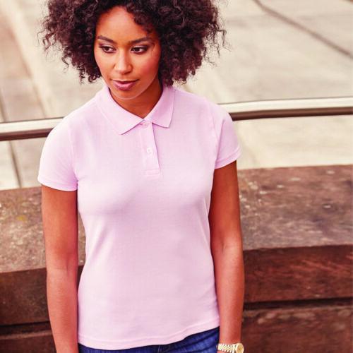 Russell Femme Coton Classique Pique Manches Courtes Polo Shirt 569 F