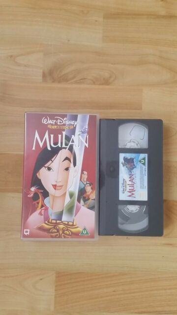DISNEY'S MULAN VIDEO VHS/PAL. BRAND NEW. STILL FACTORY SEALED