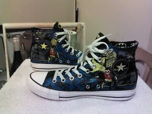 46ed889f0796 Chuck Taylor Converse All Star DC Comics Batman 70 s High Top ...