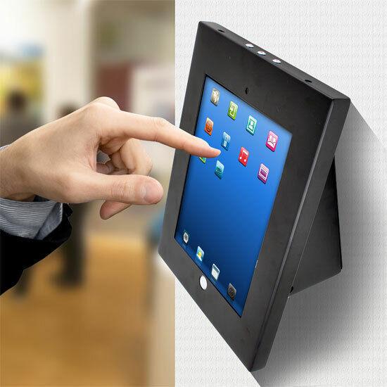 Pyle PSPADLKW5 Anti-Theft Kiosk Multi-Mount for iPad 2/3/4 & iPad Air BAD BOX