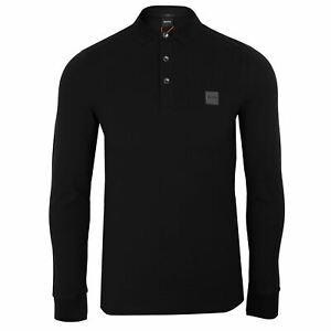 hugo boss black long sleeve shirt