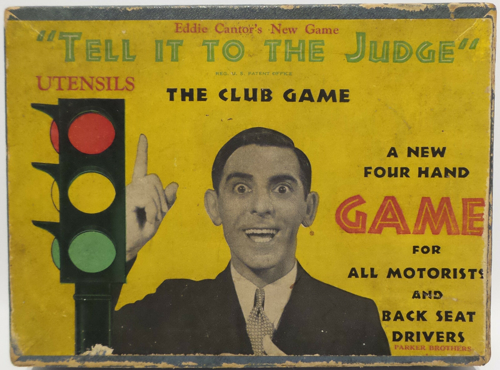 Voitures: tell tell tell it to the judge jeu made in 1932-missing the board - (mlfp) b10e95