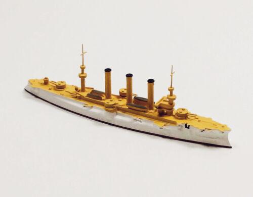 Navis 333 US Armored Cruiser Brooklyn White//Gold 1//1250 Scale Model Ship