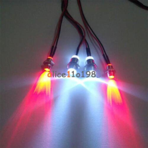 Fashion RC On-Road Car LED Night 5mm White And 3mm Red Headlamps 4 LED Light