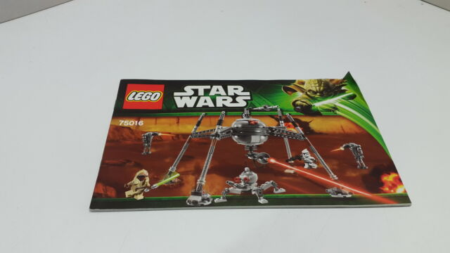 Lego Star Wars Homing Spider Droid 75016 Ebay