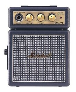 Marshall MS-2 Mini Guitar Amplifier (Vintage Style)