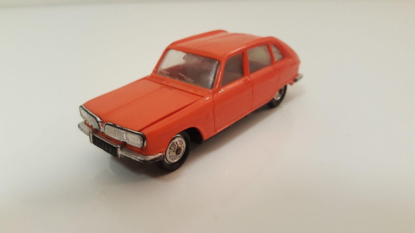 Norev plastique - Renault 16 1 43 (Années 60)
