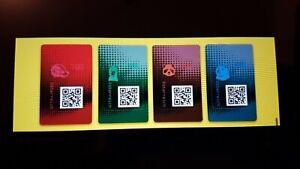 Osterreich-2020-Crypto-Stamp-2-0-full-Set-4-Tieren