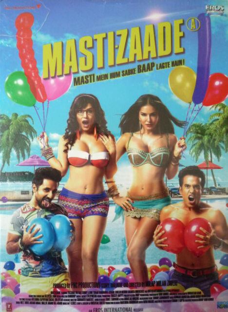 MASTI-ZAADE - BOLLYWOOD DVD - Sunny Leone, Tusshar Kapoor, Vir Das, Suresh Menon