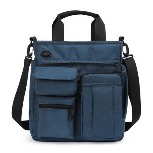 Men/'s Nylon Shoulder Bag Messenger Business Briefcases Laptop Handbags Tote
