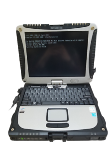 AS IS Panasonic ToughBook CF-19 Intel Core Due U2400 1.06GHz 512MB 250GB HDD
