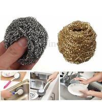 Soldering Solder Iron Tip Home Cleaner Clean Copper Steel Wire Sponge Ball Tool