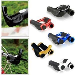 1-Pair-Durable-Bar-End-Handlebar-Grips-Mountain-Bike-MTB-Ergonomic-Bicycle-Nice