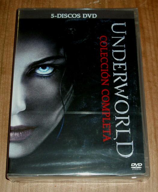 UNDERWORLD LA COLECCION COMPLETA 5 DVD NUEVO PRECINTADO ACCION (SIN ABRIR) R2