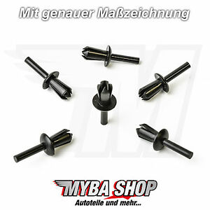 10x-Wheel-Housing-Mounting-Clips-BMW-Peugeot-Fairing-NEW