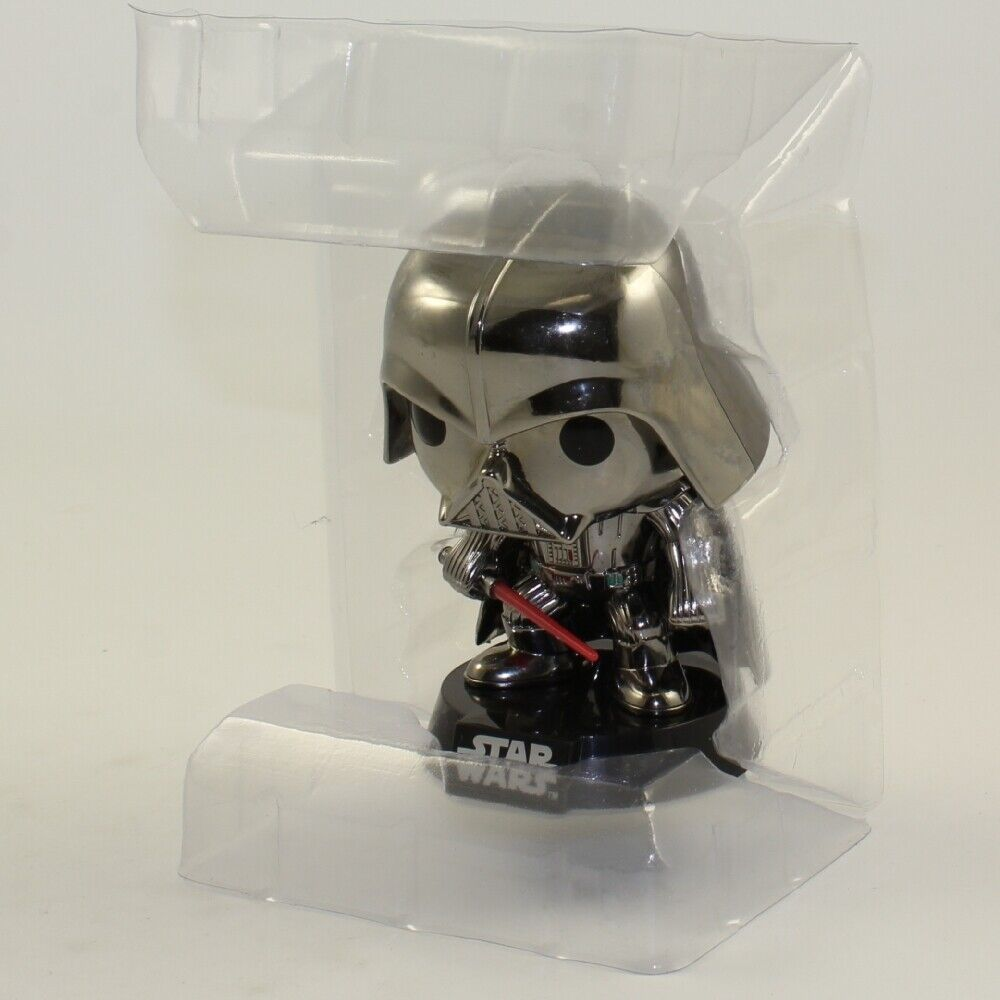 Funko POP  Star Wars - Darth Vader Chrome Vinyl Figure LOOSE FIGURE - NO BOX