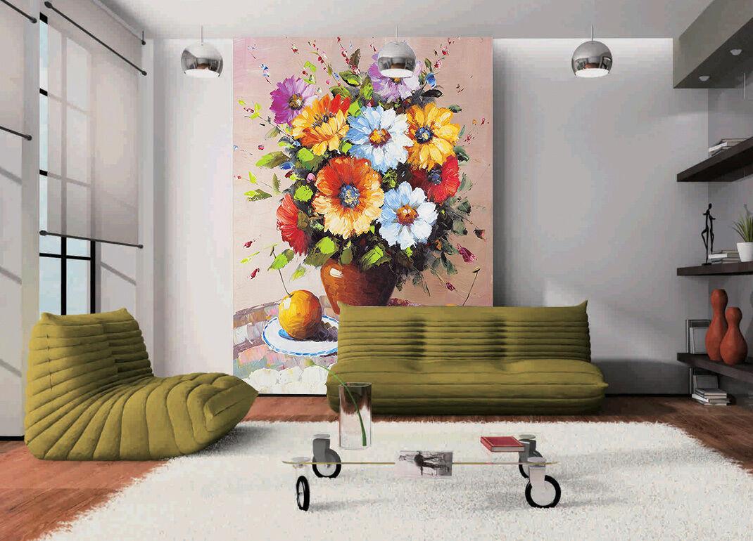 3D Fowers Bloom Fruit 021 Wall Paper Wall Print Decal Wall AJ WALLPAPER CA