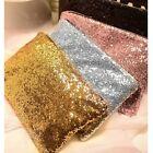 Women's Party Evening Makeup Bag Clutch Sequins Handbag Messenger Envelope Bag