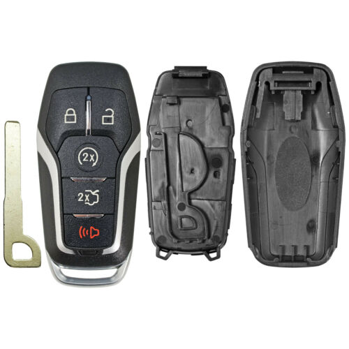 Fits 2015-2018 Mustang Replacement Smart Prox Remote Key Keyless Case Housing