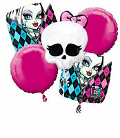 Monster High Birthday Party Balloon Bouquet