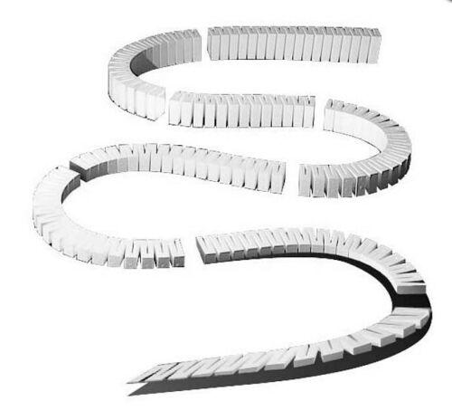 Woodland wst1410 2/% Allée Rampe Flexible 8 pièces-NEUF dans neuf dans sa boîte