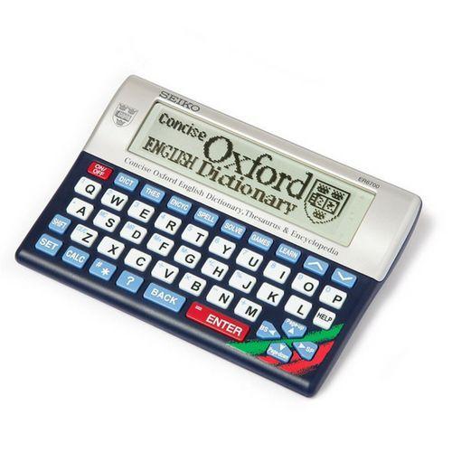 SEIKO ER6700 CONCISE ELECTRONIC OXFORD DICTIONARY THESAURUS ENCYCLOPEDIA