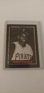 Showtime Roberto Clemente Baseball Card Promo Pittsburgh Pirates Near Mint