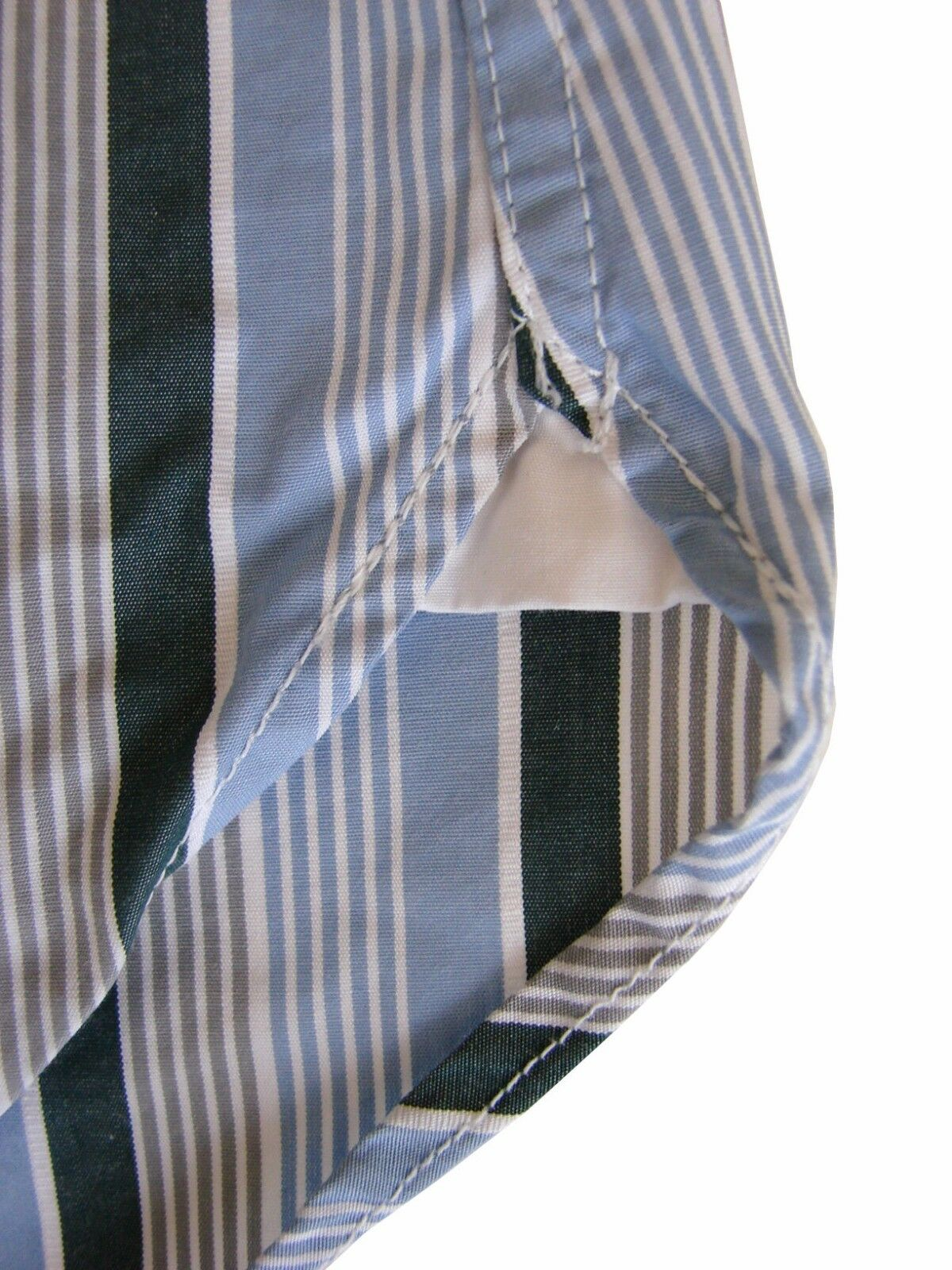 REISS Shirt Mens 14.5 14.5 14.5 S Blau - Multi-Colourot Stripes SLIM FIT | Feinen Qualität