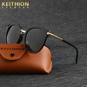 KEITHION-Brand-Design-PolarIzed-Sunglasses-Women-Vintage-Round-Mirror-Glasses