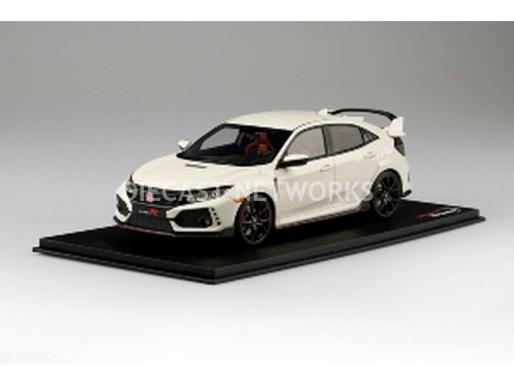 Top Speed Honda Civic Type R Campionato Bianco 1/18 Scala Nuovo in Magazzino