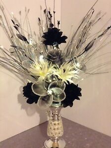 Artiicial Flowers Romany Silver