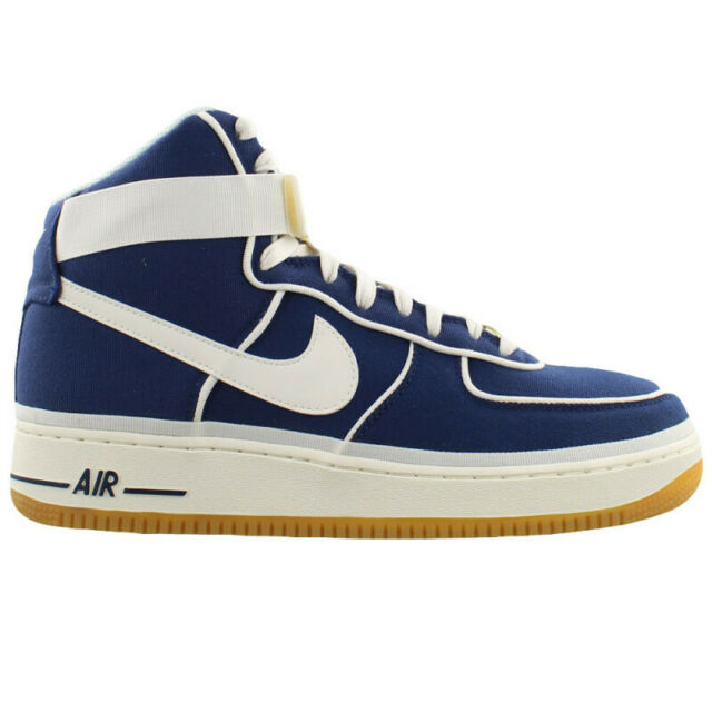 Nike Air Force High 07 LV8 Binary Blue Sail Gum Canvas