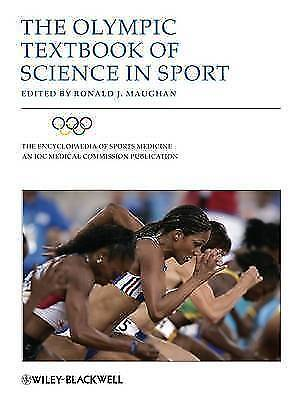 1 of 1 - The Olympic Textbook of Science in Sport-ExLibrary