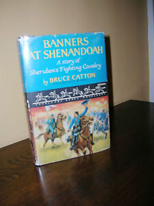Banners-At-Shenandoah-Sheridan-by-Bruce-Catton-1955-1st-Edition-Cavalcade-Book