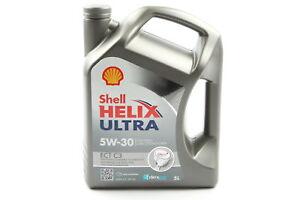 Shell Helix Ultra Motoröl 5 Liter ECT C3 5W30 ACEA C3 API SN MB229.51/229.31