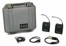 Sennheiser ew 100-ENG G2 (Partial Set) Freq: A Wireless Microphone w/Case 2108